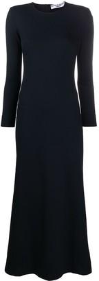 Katharine Hamnett Long-Sleeve Midi Dress