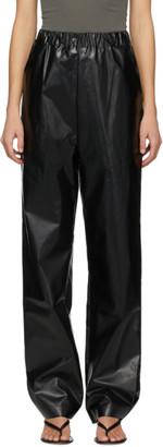 Kassl Editions Black Oil Long Trousers
