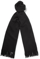 Acne Studios Canada Virgin Wool Scarf - Black
