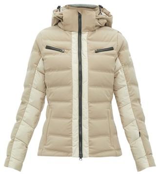 BEIGE Capranea - Vanta Down Filled Quilted Ski Jacket - Womens