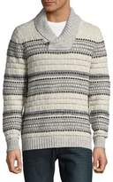 Tommy Bahama Textured Shawl Sweater