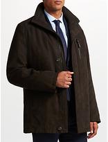 Bugatti Microma Velour Jacket, Dark Brown