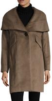 Derek Lam 10 Crosby Oversized Alpaca Hooded Coat