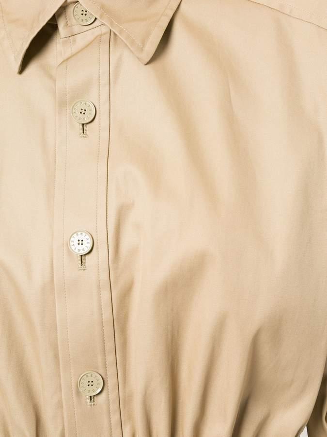 ASTRAET gathered waist shirt