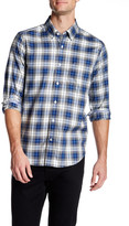 Nautica Long Sleeve Classic Fit Plaid Shirt