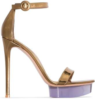 Gianvito Rossi Open Toe 130mm Platform Sandals