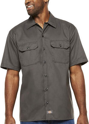 Dickies FLEX Relaxed Fit Short Sleeve Twill Work Shirt