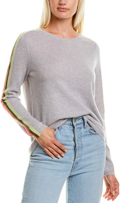 LISA TODD The Racer Cashmere Sweater