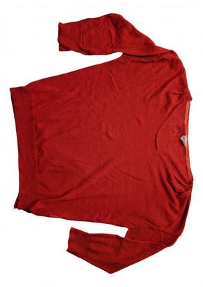 American Vintage Orange Linen Knitwear