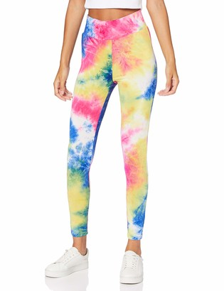 Urban Classics Women's Ladies Tie Dye High Waist Leggings