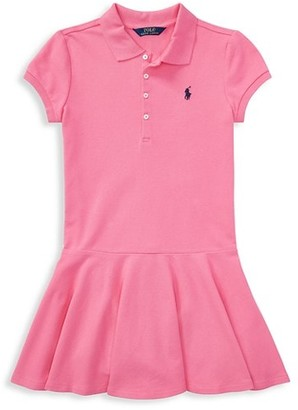 Ralph Lauren Little Girl's & Girl's Polo Dress