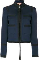 No.21 structured jacket - women - Cotton/Polyester/Spandex/Elastane - 38