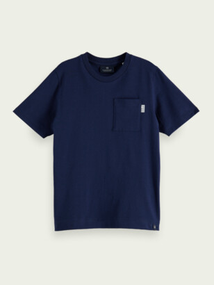 Scotch & Soda Organic cotton pocket T-shirt | Boys
