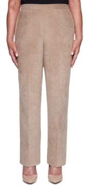 Alfred Dunner First Frost Proportioned Corduroy Pants