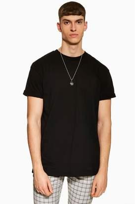 Topman Mens Oversized T-Shirt - Black