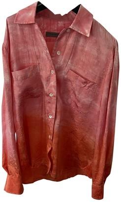 Raquel Allegra Pink Linen Top for Women