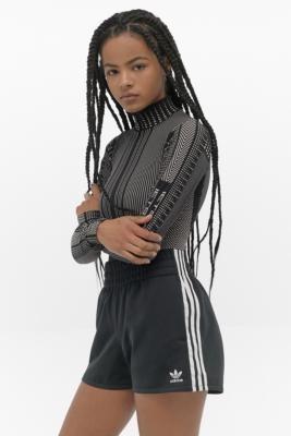 adidas 3-Stripe Shorts - Black UK 8 at Urban Outfitters