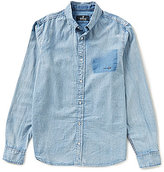Buffalo David Bitton Sigmun Long-Sleeve Denim Shirt