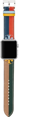 Tory Burch McGraw Band for Apple Watch, Multi-Color Leather, 38 MM 40 MM