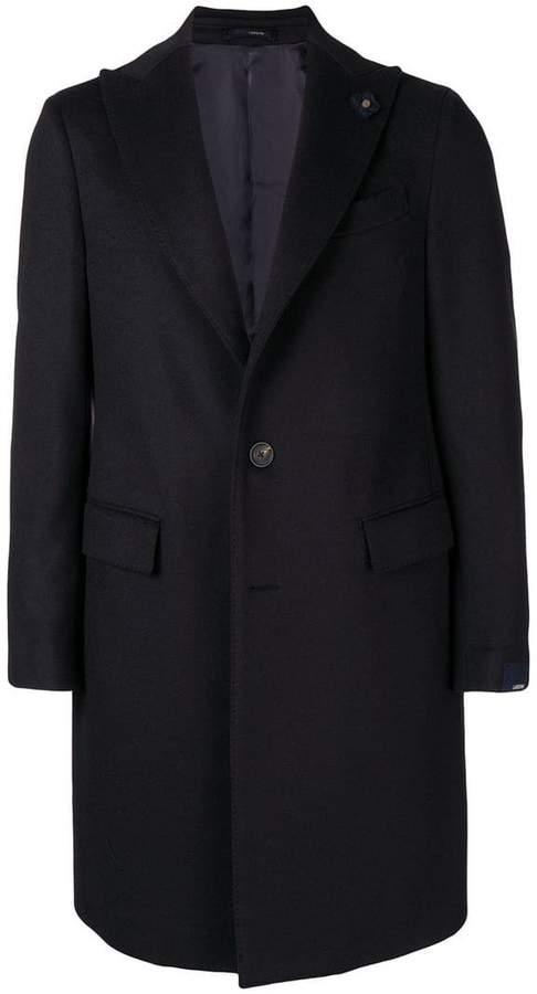 Lardini single-breasted coat