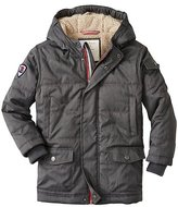 Boys Sherpa Lined Insulated Parka