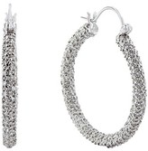 Effy Jewelry 14K White Gold Diamond Hoop Earrings, 2.55 TCW