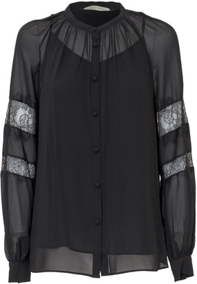 MICHAEL Michael Kors Lace Detail Blouse