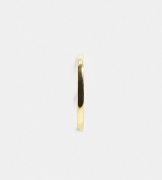 Shashi Ford piercing ear cuff in gold