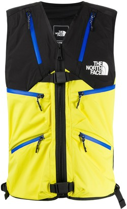 The North Face Colour-Block Buckled Gilet