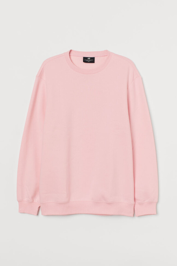 H&M Relaxed Fit Sweatshirt - Pink