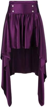 Sies Marjan asymmetric drape skirt