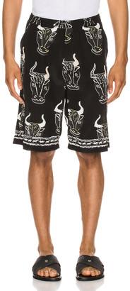 Endless Joy Larnax Board Shorts in Black Multi | FWRD