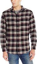 G.H. Bass Men's Long Sleeve Plaid Flannel Shirt
