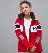 Helly Hansen Salt Flag Jacket In Red