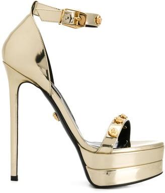 Versace Medusa stud sandals