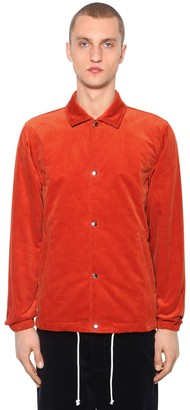 Comme des Garçons Shirt Cotton Corduroy Shirt Jacket
