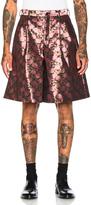 Comme des Garcons Jacquard Shorts