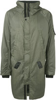 11 By Boris Bidjan Saberi cargo coat - men - Polyamide - S