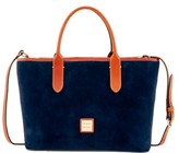 Dooney & Bourke Suede Brielle Top Handle Bag