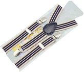 Zhhmeiruian Childrens fully adjustable Elasticated Clip on 'Y' Braces /Suspenders