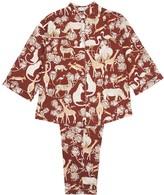 Safari Pyjamas in Protea Red
