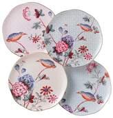 """Wedgwood Cuckoo"""" Tea Story Tea Plates, Set of 4"""