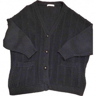 Sessun Navy Cotton Knitwear for Women