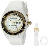 Technomarine Women's TM-115119 Cruise Sport Analog Display Swiss Quartz White Watch