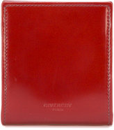 Givenchy logo embossed coin wallet - women - Calf Leather - One Size