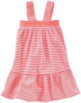 Osh Kosh Knit Dress (Toddler/Kid) - Jolt Stripe - 4T