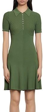 Sandro Esmila Short Knit Dress
