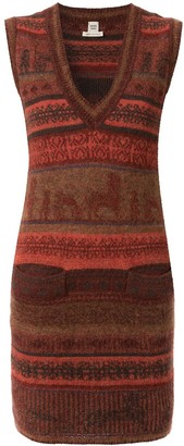 Hermes 1998-2004 Pre-Owned Sleeveless Knitted Dress