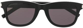 Saint Laurent Eyewear Stud Embellished Sunglasses