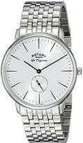 Rotary Men's gb90050/06 Analog Display Swiss Quartz Watch